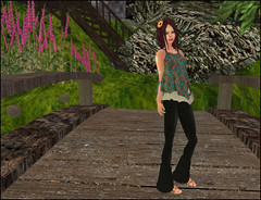 Fashion addict  la campagne (Ys Ah) Tags: secondlife freebies fashionsladdict