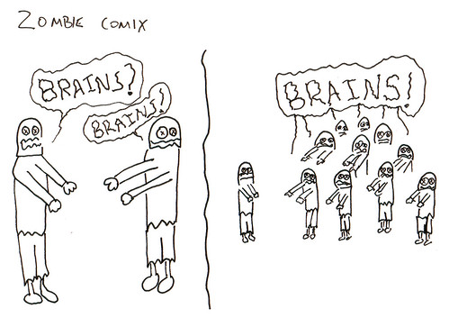 366 Cartoons - 126 - Zombie Comix