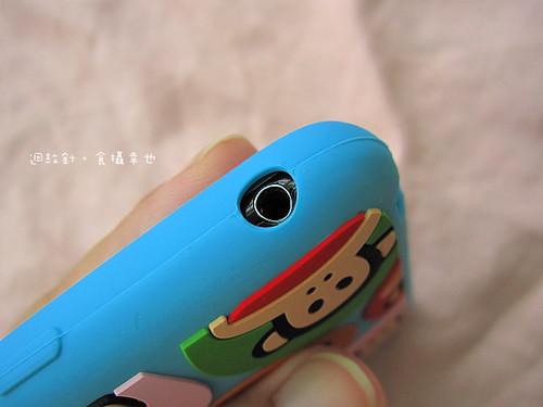 PF iphone保護套耳機插孔洞