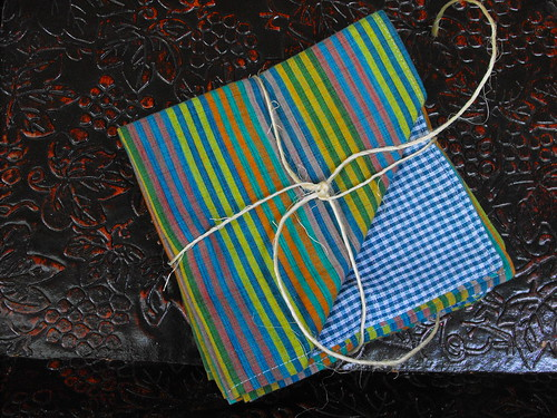 Country Stripe Lunch Napkins