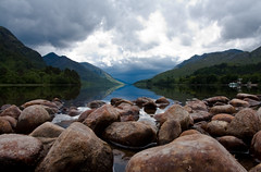 Loch Shiel, Lochaber (BrianReid) Tags: cloud storm landscape eos scotland fort william 1750 loch lochaber shiel tamrom 40d greatbritishlandscape
