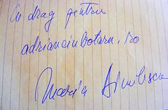 Maria Dinulescu - autograf web 2.0