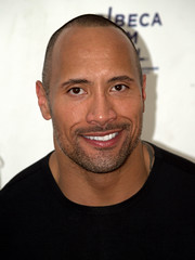 Dwayne Johnson portrait shot by David Shankbone