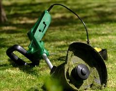 Job's done (jasperzondervan) Tags: grass garden groen gardening mower tuin grasmaaier tuinieren