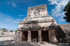 Temple of the Jaguars (Mark Griffith) Tags: mexico ruins maya yucatan chichenitza mayanruins jaguar templeofthejaguar