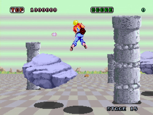 Space Harrier - Virtual Console