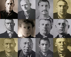 Faces Of Prison (gebodogs) Tags: collage prison wyoming 456 territorial prisoners inmates larame taltotw