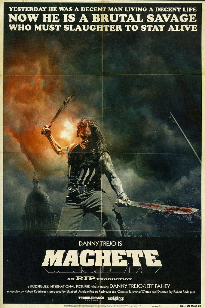 Poster de Machete