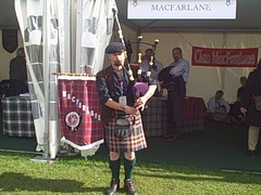 Clan MacFarlane tent at The Gathering 2009