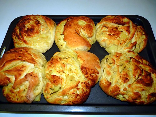 Potato & Rosemary Rolls