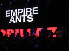 Empire Ants (cedickie) Tags: london gorillaz roundhouse littledragon empireants