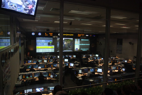 Shuttle Mission Control Center