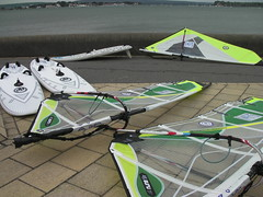 Used windsurf sails - 2011 Goya Guru & Nexus windsurf sails