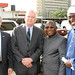 L-r, USAID Mission Director Mike Harvey, Ambassador Entwistle Pastor James Wuye and Imam Nurudeen Mohammed Ashafa_Embassy photo by Idika