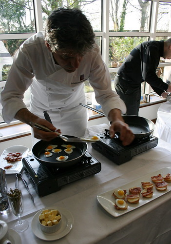 Giorgio Locatelli Cooks Up Breakfast