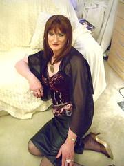 CIMG3452 (Julie Bracken) Tags: old red portrait fashion hair tv cd mini skirt crossdressing tgirl transgender mature tranny transvestite crossdresser crossdress kinky tg trannie mtf m2f feminized enfemme xdresser tgurl feminised transsister julieb85