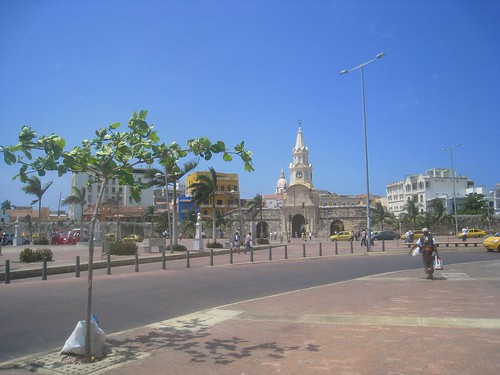 View toward the old city