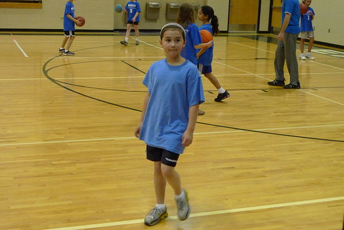 Cody at basketball