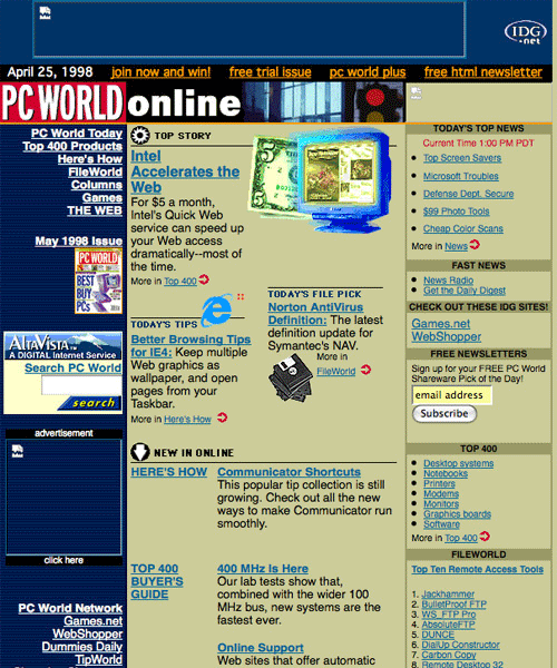 3314805619 e12f93d806 o Websites We Visit: How They Look Like 10  Years Ago