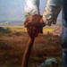Millet, Man with a Hoe, detail