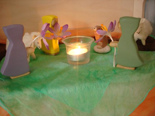 Early Spring Nature Table