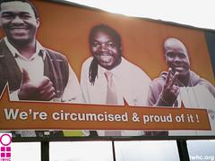 We're circumcised & proud of it!