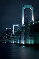Night Street - Rainbow Bridge (cocoip) Tags: japan tokyo odaiba rainbowbridge daipapark nightstreet eos 5d markii canoneos5dmarkii eos5dmarkii ef70200mmf4lisusm ef70200mm 5d2 5dmark2 5dii 5dmarkii night      searchthebest