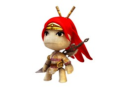 LittleBigPlanet - Heavenly Sword Render
