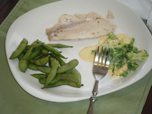 Eating In: Tilapia Edamame Broccoli Pictures