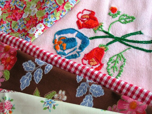 a new life for an old table cloth?