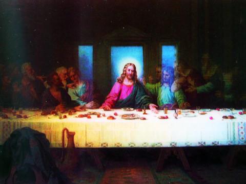 Il Cenacolo o L'Ultima Cena Post card1