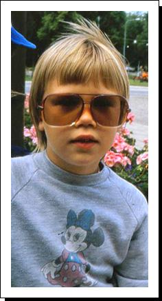 Ungefär så här cool var jag! *not*