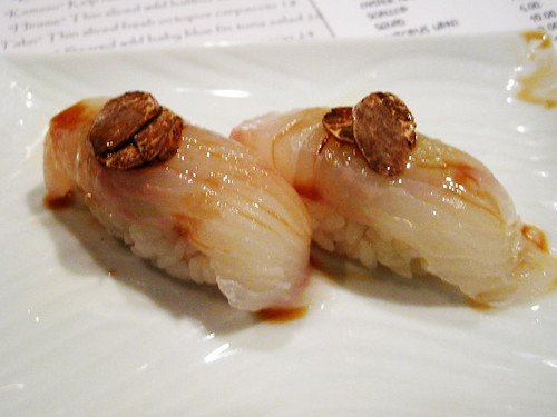 Halibut with Truffle
