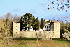 Collio (Alessandra47 D.G.) Tags: italy castles italia wine churches hills vineyards farms vino colline castelli friuli cascine chiese vigneti collio olympussp350 alessandra47 canoneos1000d