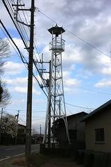 下松原の火の見櫓(川越市)