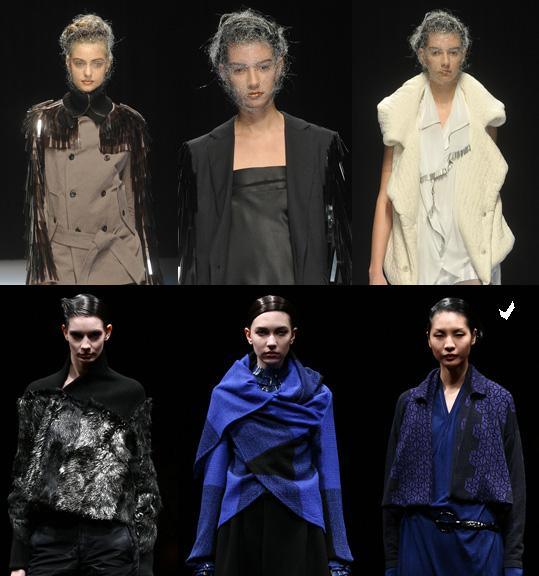 Not many Asian Models at Japan Fashion Week in Tokyo