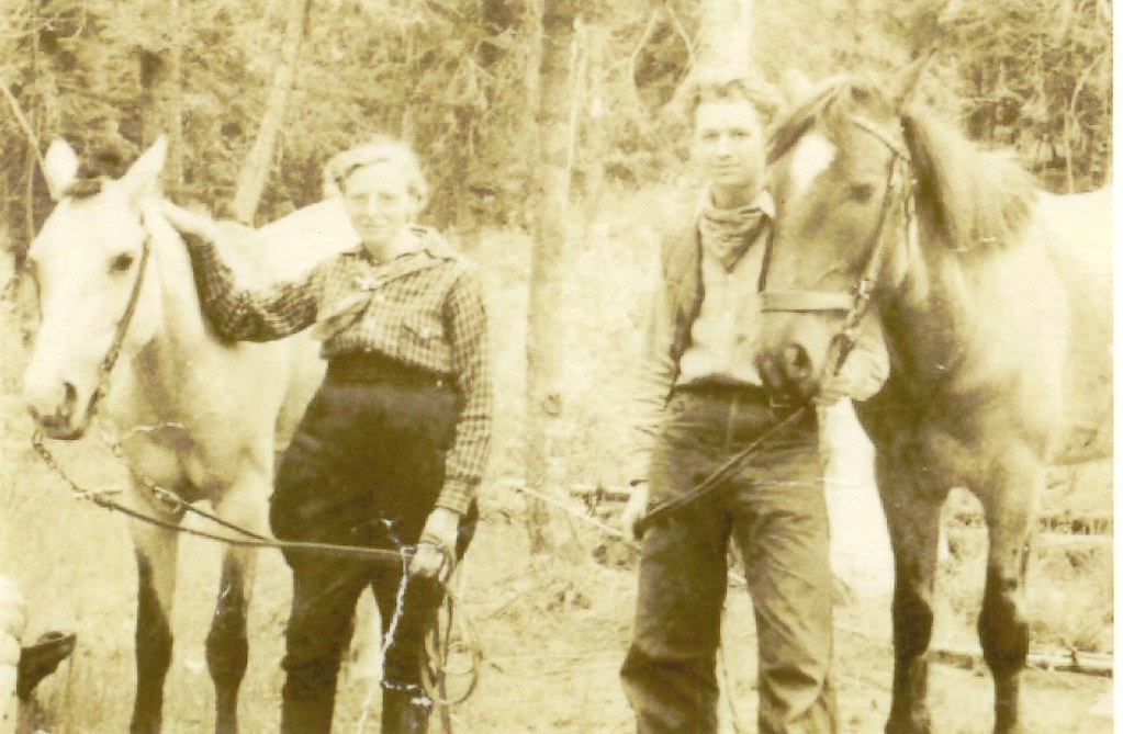 Mom & Dad Horseback Honeymoon