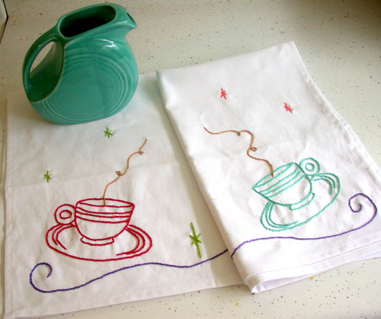 Jan's Tea towels