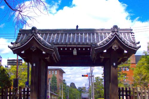 Imadegawa-gomon, Kyoto Imperial Palace