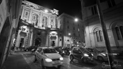 Roman Nightlife (Sean Molin Photography) Tags: city rome roma cars beautiful soldier italia european cityscape roman streetscene nightlife epic gladiator mediteranian vacationeuropeitalyrome2009marchvacationitalli vacationeuropeitalyrome2009marchvacationitallian seanmolin wwwseanmolincom