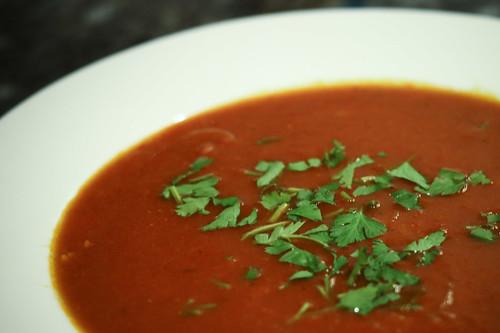 Wintertime Tomato Soup
