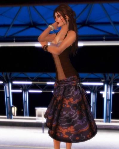 Tania Tebaldi catwalk 3