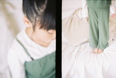 Are you graceful? tomboyish? (chara*coco*) Tags: happybirthday mygirl penft doubleframe fujirealaace100