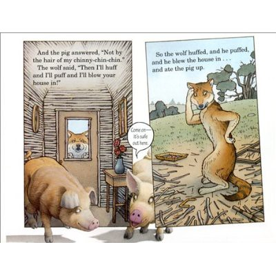 Top 100 Picture Books #68: The Three Pigs by David Wiesner