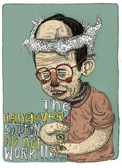 _ (pearpicker.) Tags: illustration glasses hangover ugly solution pearpicker