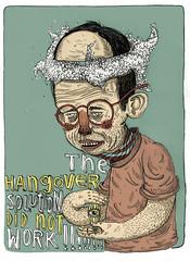 _ (pearpicker.) Tags: illustration glasses hangover ugly solution pearpicker