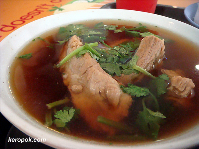 Peppery Bak Kut Teh