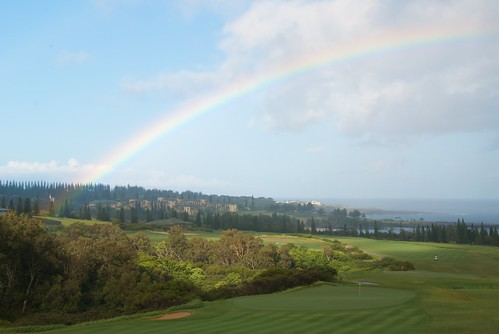 Rainbow over Kapalua
