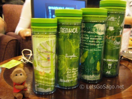 Starbucks Clean & Green Recyclable Tumblers with Sago
