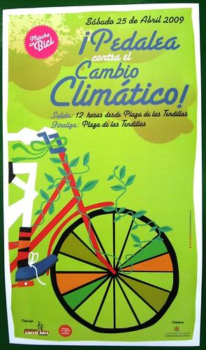 Marcha en Bicicleta por el Día de la Tierra.